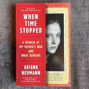2/$10 Paperback Book - When Time Stopped Book